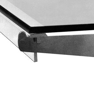 Metal Support Bar Metal Shelf Bracket