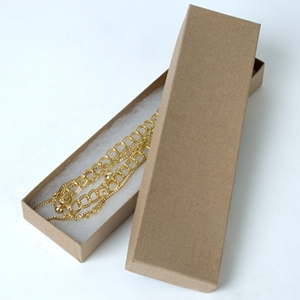 Jewelry box necklace Kraft