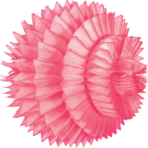pink paper aztec ball hanging paper decorations