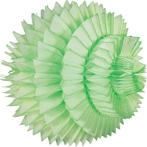 lime paper aztec ball hanging paper decorations