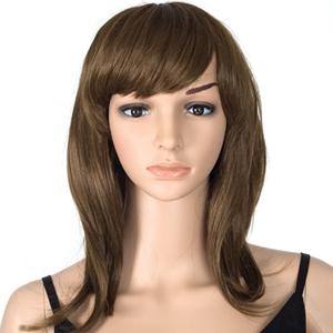 Auburn Female Wig Mannequins And Wigs