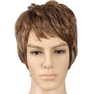 Brown Male Wig