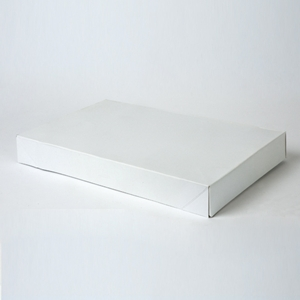 15x9.5x2 White apparel box