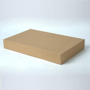15x9.5x2  Kraft apparel box