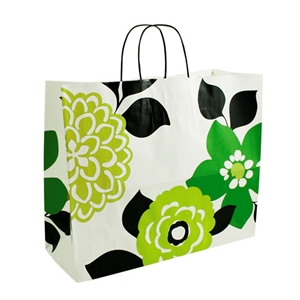 Bold Floral Shopping Bag