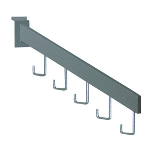 5-hook waterfall for slatwall panels
