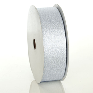 Silver Luxe Metallic Ribbon 1-1/2""