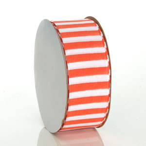 Orange Cabana Ribbon