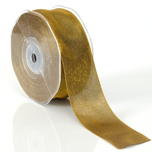 Two-toned silky ribbon