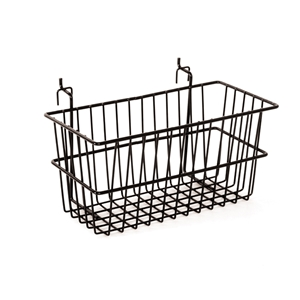 Black narrow basket