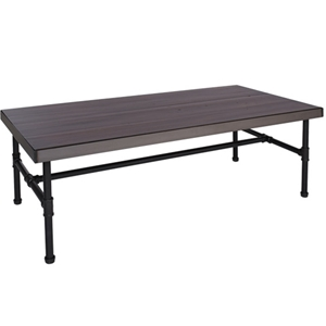 "Hanson Industrial Piping Table, 60"" W x30"" D x 20"" H"