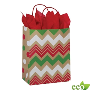 Christmas Chevron 8x4.75x10.5