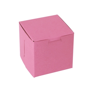 Strawberry Single Cup Cupcake Box 4x4x4