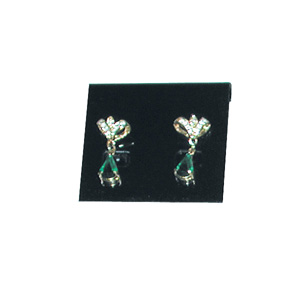 Jewelry earring card plastic