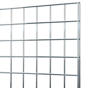 Chrome grid panel 2x8