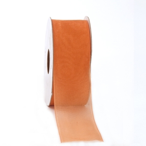 Chiffon ribbon orange
