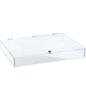 Acrylic countertop showcase