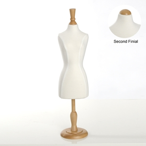 Cream Mini Dress Form Df 22wh Firefly Solutions