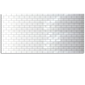 Subway Tile 3D Textured Decorative Wall