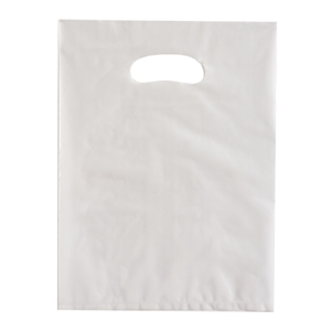 frost plastic shopping bags