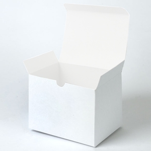 6x4.5x4.5 White  1pc gift box