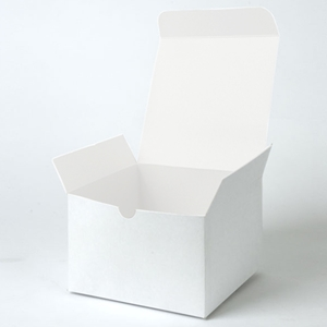 6x6x4 White 1pc Gift box