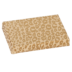 Pop-Up Gift Card Box Cheetah