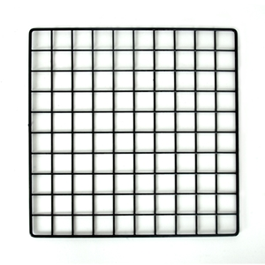 Plastic Coated Grid Panel Cubes And Bases