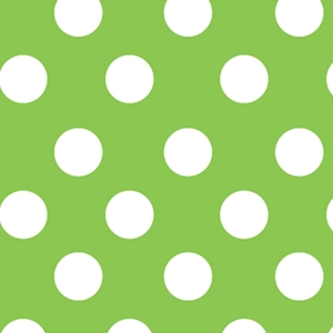 lime sunny dots all occasion gift wrap
