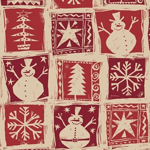 homespun christmas kraft holiday gift wrap