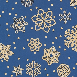 sparkling snowflakes holiday gift wrap
