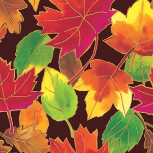 autumn leaves all occasion gift wrap