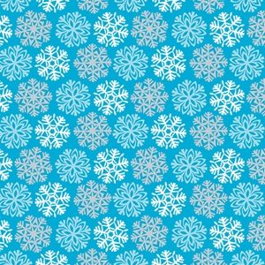 Snowflakes Gift Wrap Category
