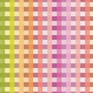 rainbow gingham all occasion gift wrap