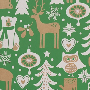 Woodland Critters  Gift Wrap Category