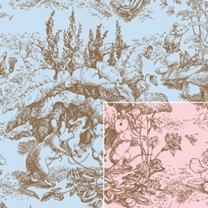baby toile baby gift wrap