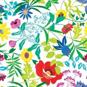 summer garden all occasion gift wrap