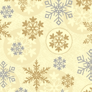 first snowfall holiday gift wrap