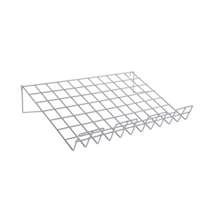 Grid wire slant shelf chrome GES91C