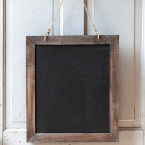 Two-Sided Hanging Blackboard Sign