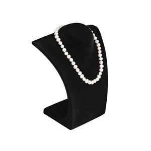 "Curved Bust Necklace Display 8.5"" H"
