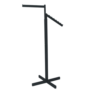 Garment rack 2-Way textured black