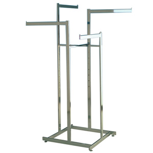 Garment rack high capacity