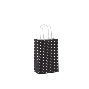 Polka Dot Pleasure Gift Bags 5.5x3.25x8.375