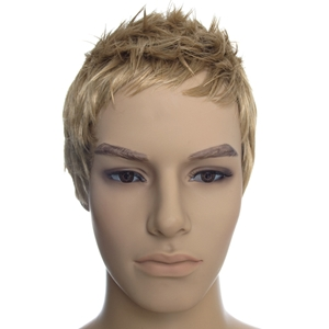 Blonde Male Mannequin Wig Retail Store Supplies