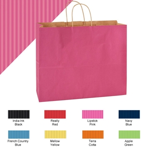 16x6x13 natural tint shopping bag
