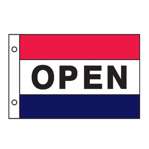 Open flag 3ftx5ft