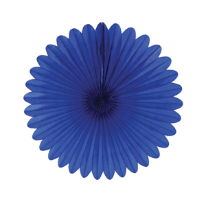 Blue Paper Fan Hanging Paper Decorations Pf12 012