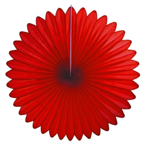 red hanging paper fan hanging paper decorations