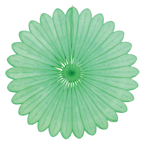 lime paper fan hanging paper decorations